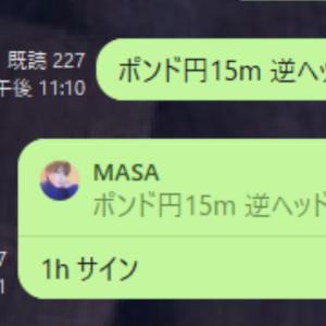 GBPJPYポンド円9/22上昇予想的中!今後のMASA式トレード戦略は!?