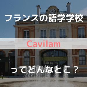 フランス語学学校 Cavilam ってどんなとこ?実際に通った詳細と感想をお伝えします!
