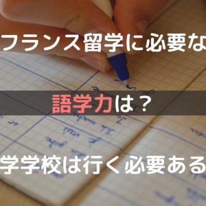 フランス留学に必要な語学力は?語学学校は行く必要ある?