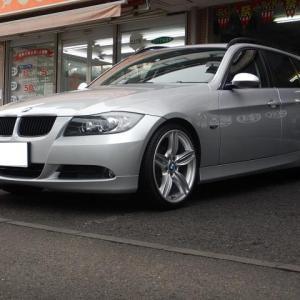 【BMW E91】BMW純正ホイール流用情報【ダブルスポーク351M】