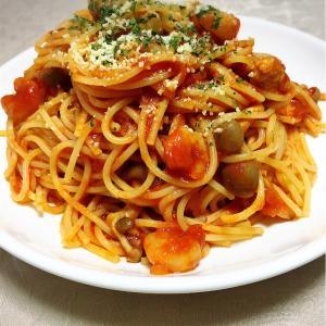 【パスタ完成】トマトソースのスパゲッティ