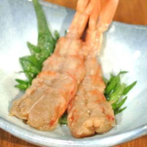 【簡単おつまみ】「赤えび」の西京味噌漬け
