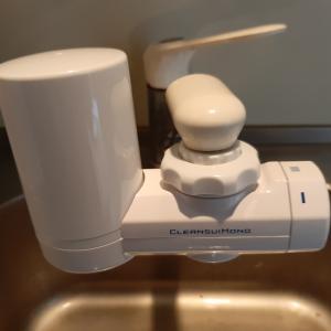ミネラルウォーターを買うのが面倒なので浄水器を導入した。