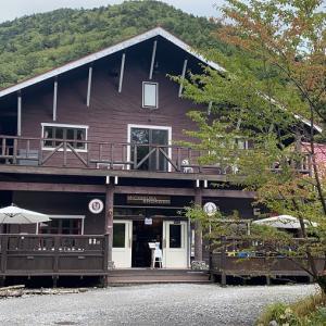 【初のテント泊!】上高地バスターミナルから徳沢まで行き、初のテント泊をする(その1)