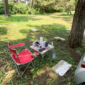 茨城県にある大洗キャンプ場で初のデイキャンプ