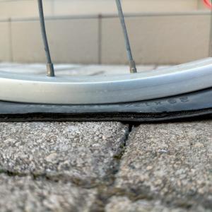 【英式 パンク修理】だれでも自転車のパンク修理 手順