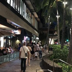 ハワイのホテルは大打撃!!&ワイキキで写真を撮りたくなる風景