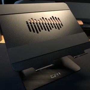 【在宅ワーカー必見!】目線の高さに調節できるEPNノートパソコンスタンドをレビュー!