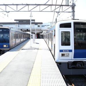 2013/8/27 白顔6000系6116F西武新宿線回送