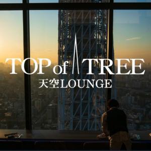 【家族でクリスマスディナーにおすすめ】「天空ラウンジ TOP of TREE」東京ソラマチ