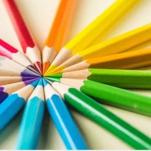 【色彩検定2級受けてみた】テキストと問題集だけで、2ヶ月で合格できる!