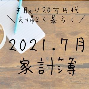 手取り20万円台、夫婦2人暮らしの家計簿