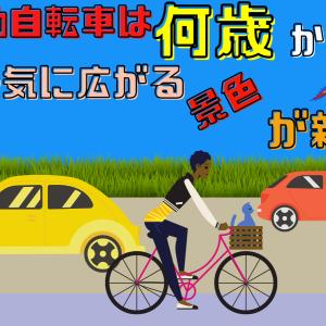 電動自転車は何歳から?一気に広がる景色が新鮮!