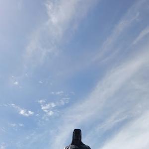 7月15日のクビレテの丘から