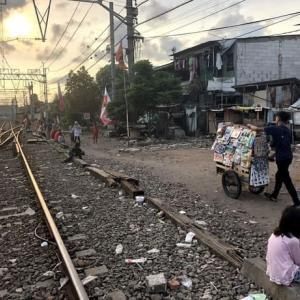 線路・スラムマニアが旅するジャカルタ(インドネシア20)