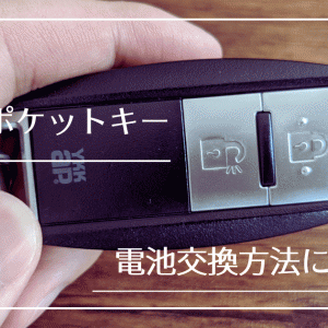 YKKap玄関ドアのポケットキー電池交換方法|ボタン電池(CR2032)とプラスドライバーを用意するだけでOK!