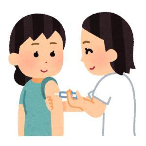 海外渡航のために予防接種を受けました