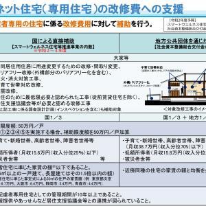 ☆セーフティネット住宅(専用住宅)の改修費への支援