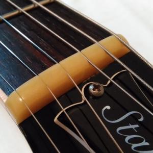 ナット交換.溝切り.調整【最近のギター/ベース・リペア・メンテナンス】2021/7/28