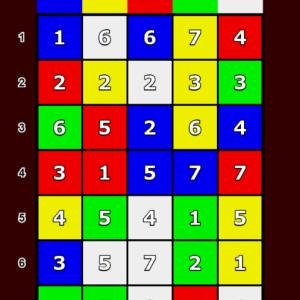 シンプルなパズルゲーム作りました