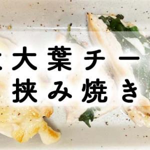 *明太大葉チーズのチキン挟み焼き*