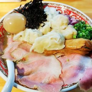 【純水煮干し中華そば 匠庵】県内でも少ないマニアックな煮干しそばをいただきます。