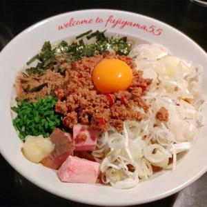 【フジヤマ55 甲府 国母店】名古屋発祥の人気グループの台湾まぜそばを食べてみたよ!
