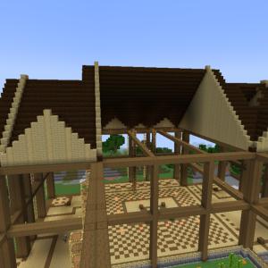 【#14】司書の図書館5 屋根を作る【ワールド3】