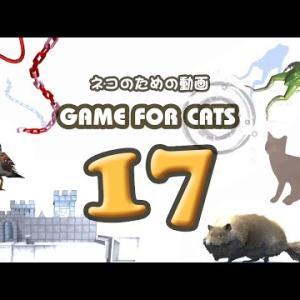 【猫用動画MIX17】ネズミ・ひも・とり・カエル 30分 GAME FOR CATS 17