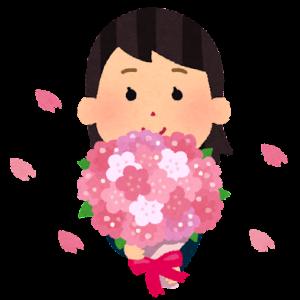 他人に花を持たせても・・・