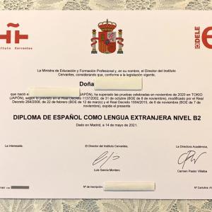 【スペイン語】Dele B2 不合格の原因&再受験で合格した私の勉強方法とスケジュールを大公開