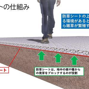 防草シートには選び方のポイント・おすすめ・留意点等々があります。