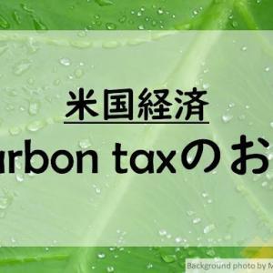 【米国経済】増え続ける温室効果ガス!Carbon taxにより削減することは出来るのか?
