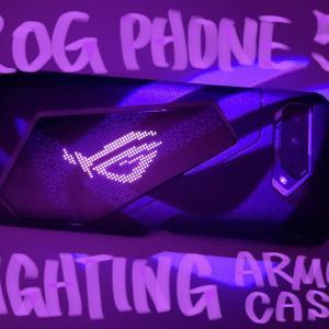 ROG PHONE 5 LIGHTING ARMOR CASE レビュー!