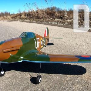 How to make Hawker Hurricane RC Plane DIY