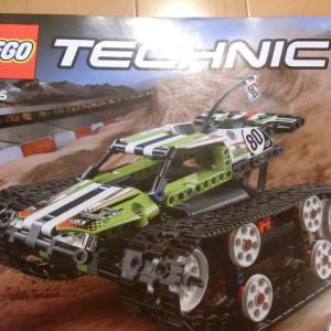 レゴ テクニック 42065 RCトラックレーサーを走らせてみました LEGOTECHNIC RC Tracked Racer