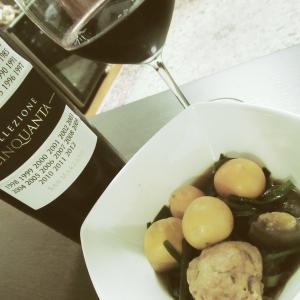 イエメシ・マリアージュ#001 鶏キンカンとイタリアワイン