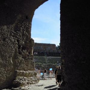 地中海クルーズ#08 古代の円形劇場