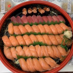 2週間VLCD明けのチートデイで寿司と和菓子を爆食い
