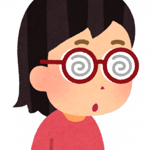 分厚いメガネ、今までありがとう
