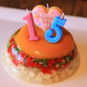 15歳♥おめでとう!カフェダインでお祝い
