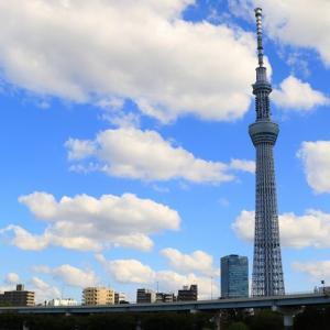 隅田川を歩いて渡ろう♥