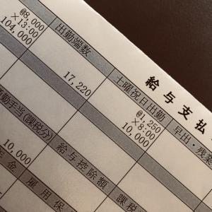 2021年10月の収入(夫)