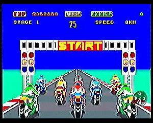 バイクのゲームってそういえばないよね。