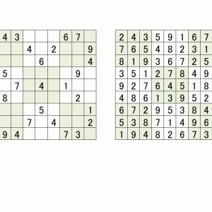 数独の解き方入門(1)