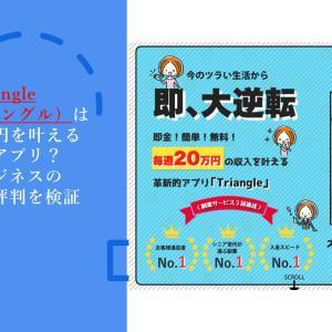 Triangle(トライアングル)は毎週20万円を叶える革新的アプリ?副業ビジネスの口コミ・評判を検証
