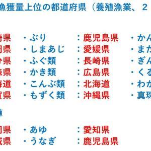 【養殖漁業編】あのさかなの漁獲量日本一の都道府県はどこ?