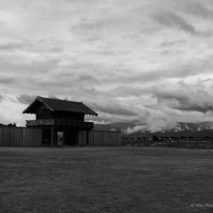 古代ロマン〜払田柵跡に立つ