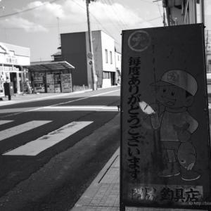 一年振りの加美町はモノクロで