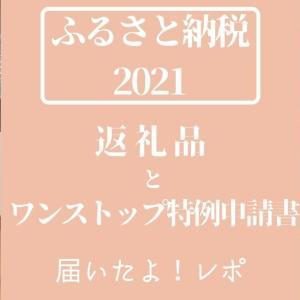 【ふるさと納税2021】返礼品とワンストップ特例制度の申請書届いたよ!レポ